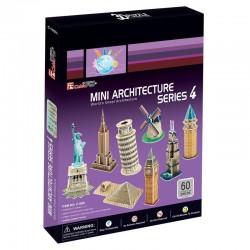 Rompecabezas 3D Mini serie...